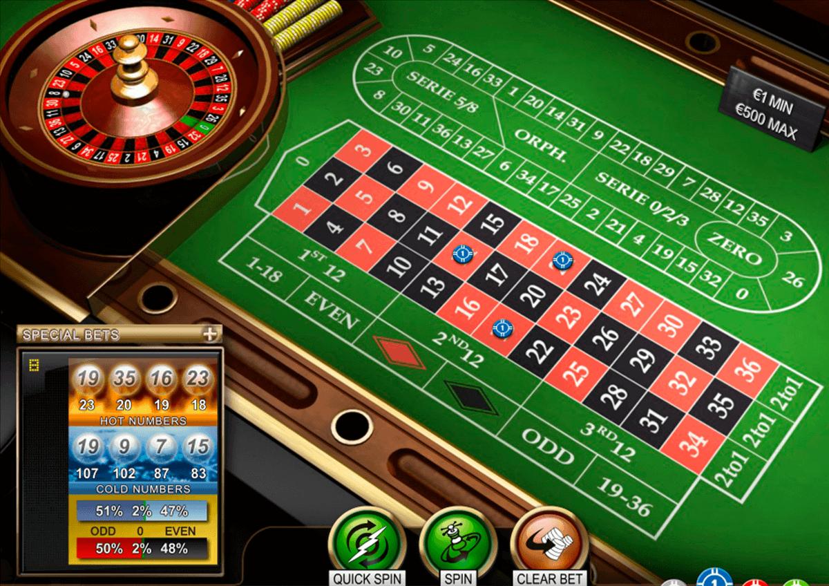 La meilleure technique roulette casino